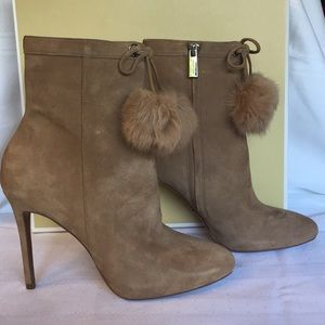 NEW! Michael Kors Remi Bootie in Khaki